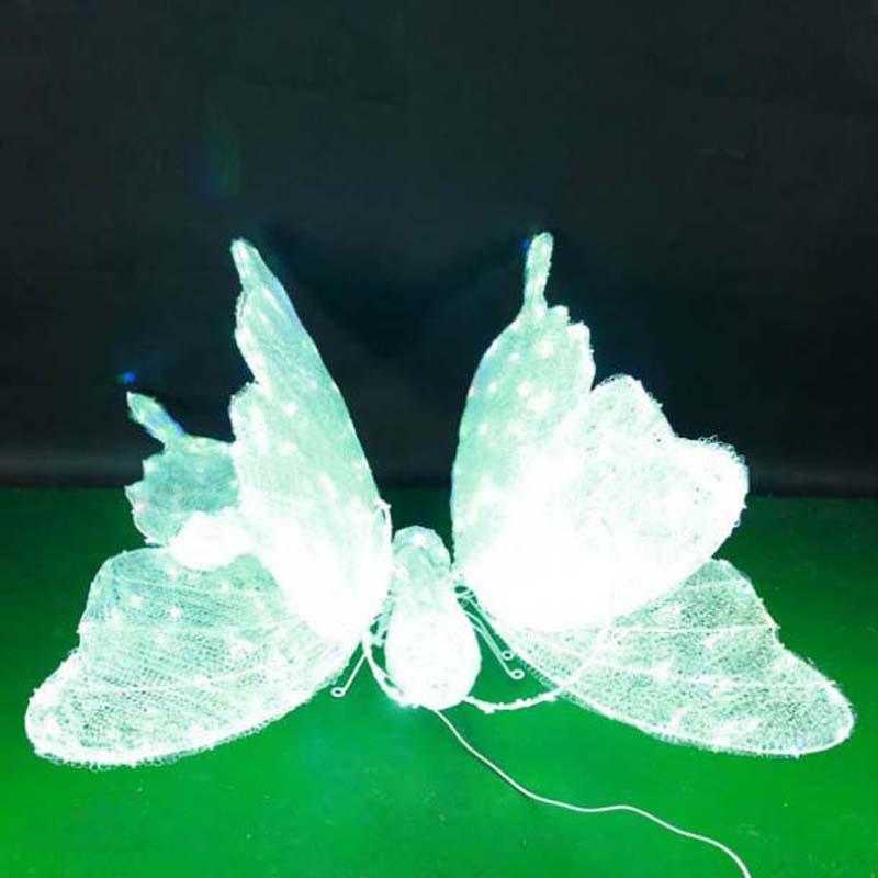 CD-LS122 3D LED thắp sáng mô hình bướm trang trí ánh sáng