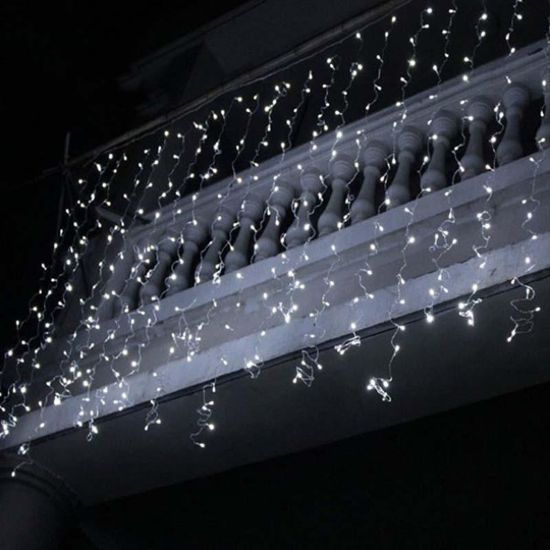 Đèn LED Icicle Giáng sinh Đèn Icicle ngoài trời Xmas Chuỗi Đèn trang trí