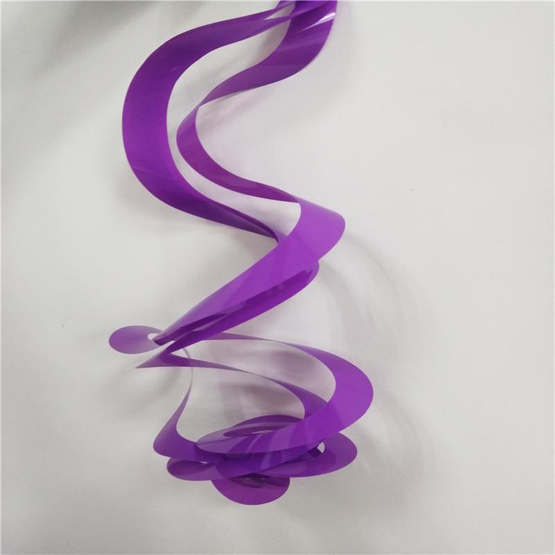 Thẻ PVC Twirly xoáy lốc Fashion Party String Party Nhà cung cấp Trang trí sinh nhật