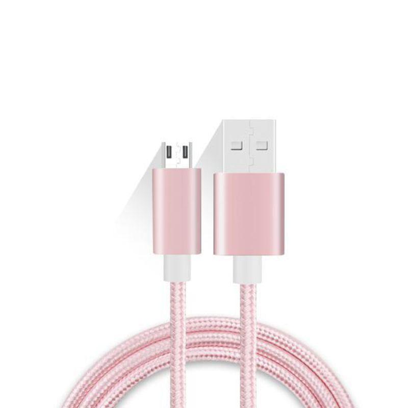 Cáp bện nylon nylon để sạc USB