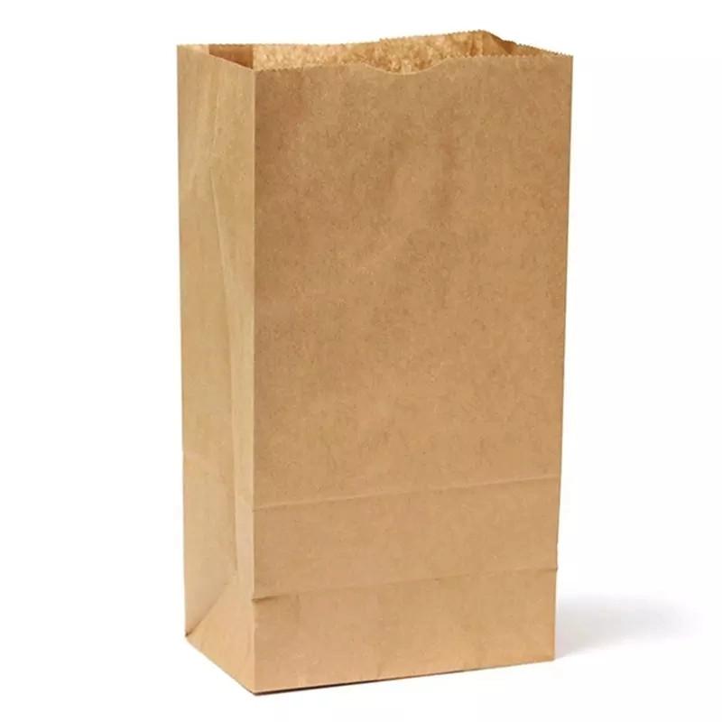 túi giấy thực phẩm túi giấy tái chế sang trọng mua sắm siêu thị túi giấy
