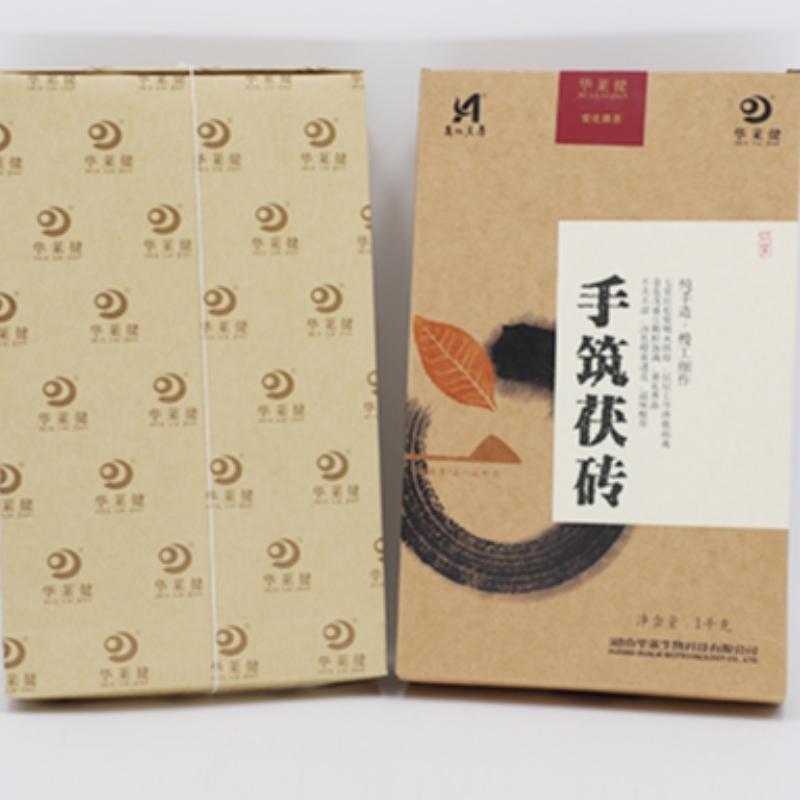Sản xuất trà chăm sóc sức khỏe trà đen Hồ Nam Anhua bằng tay