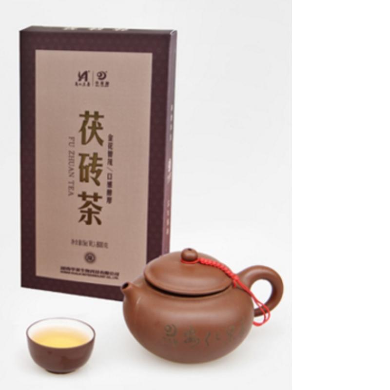 trà fuzhuan hunan anhua trà đen chăm sóc sức khỏe