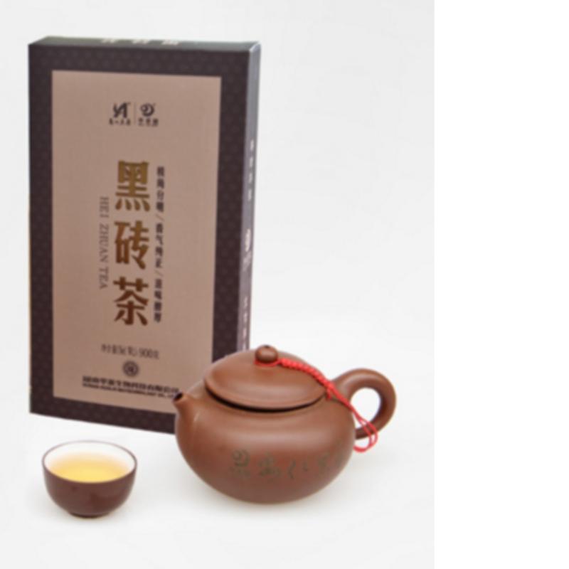 900g trà fuzhuan hunan anhua trà đen chăm sóc sức khỏe