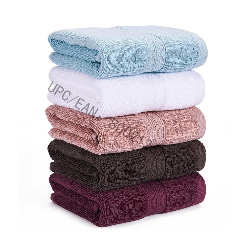 Khăn lau phòng tắm JMD, Khăn bông chải chuốt Bộ màu xám gồm 6 chiếc khăn dùng cho nhà bếp