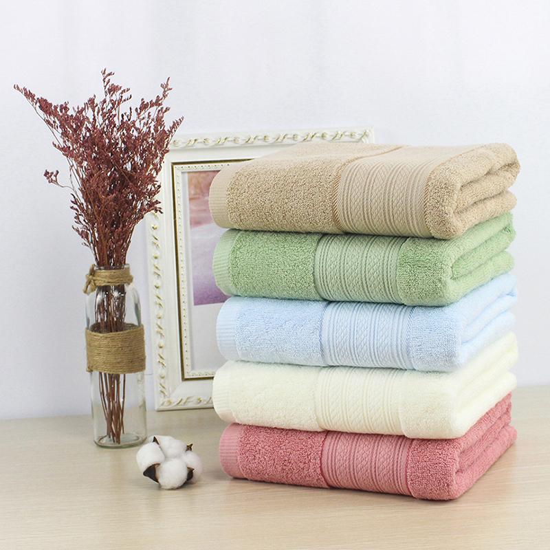Chất lượng cao 100% Cotton Plain Luxury Khăn khách sạn