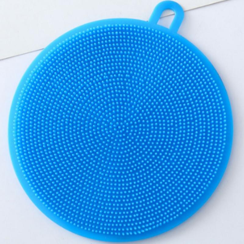 Silicone công cụ làm sạch nhà bếp silicone làm sạch và bàn chải rửa chén đa năng silicone cách nhiệt pad sản phẩm silicone thực tế