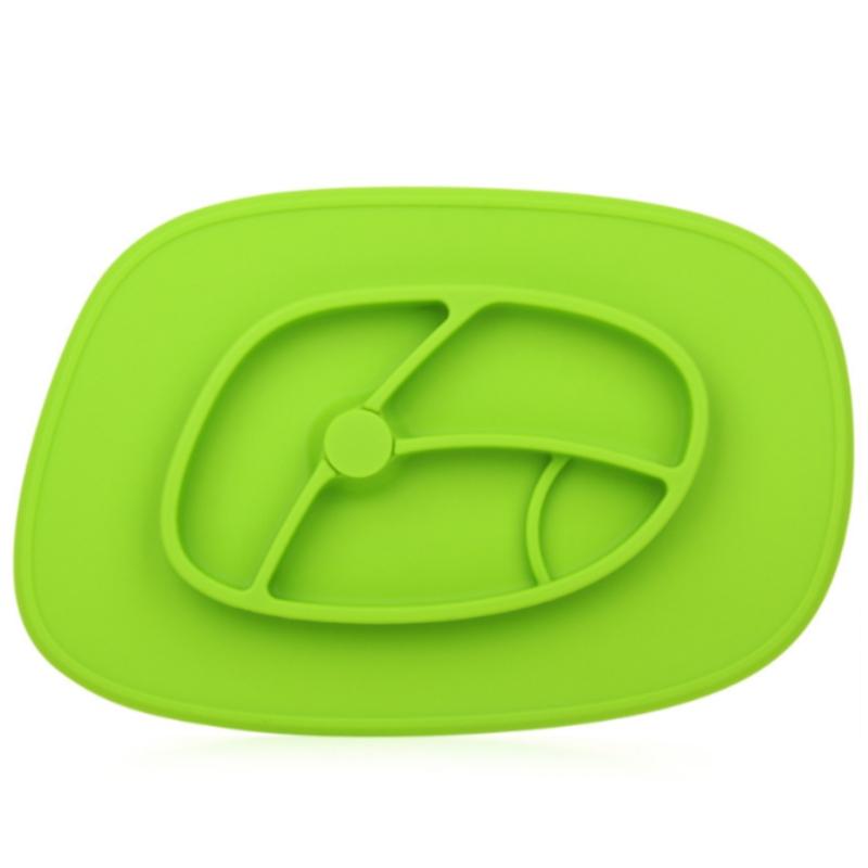 Trẻ em silicone bữa ăn pad sáng tạo cho ăn nhà bộ đồ ăn khay hút pad thực phẩm FDA lớp