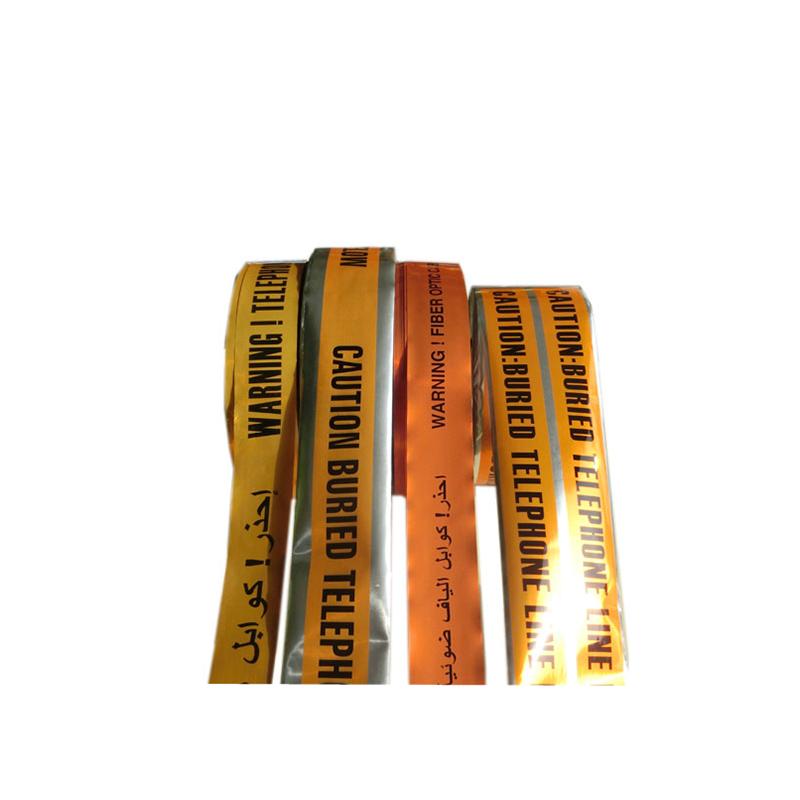 Nhà sản xuất chất lượng cao cho mỗi lần cắt PVC rào chắn ngầm phát hiện cáp cảnh báo cáp nhôm