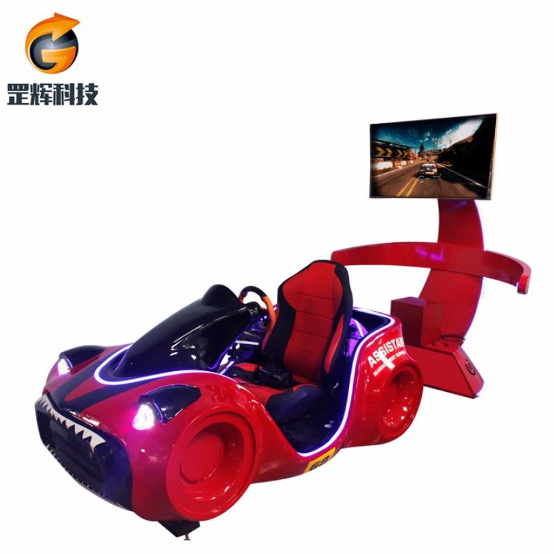 Racing Simulator VR Machine Bán toàn cầu chủ đề thiết bị công viên ba trục xe đua vr