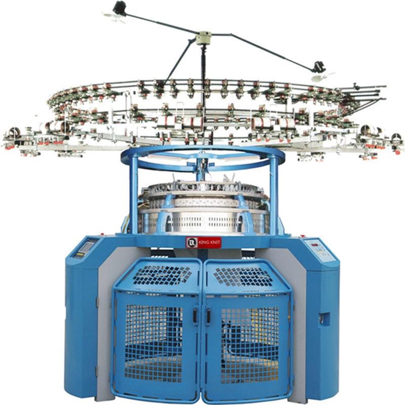 Máy đan vòng xoắn kim loại độc đội Jersey