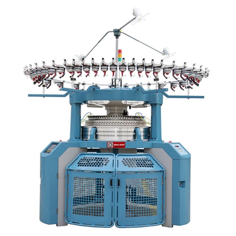nhà sản xuất máy đan vòng xoắn đôi Jersey