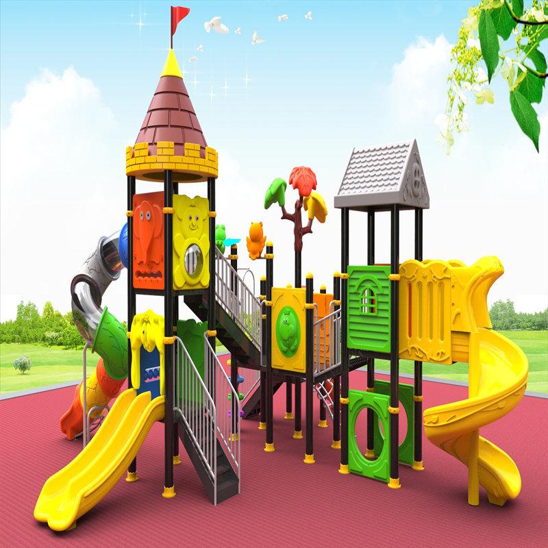thiết bị sân chơi ngoài trời với trẻ em trượt trẻ em đồ chơi nhà