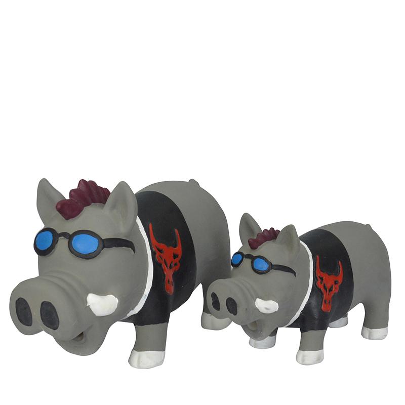 Nhà máy cao su pet squeaky đồ chơi con chó nhai đồ chơi