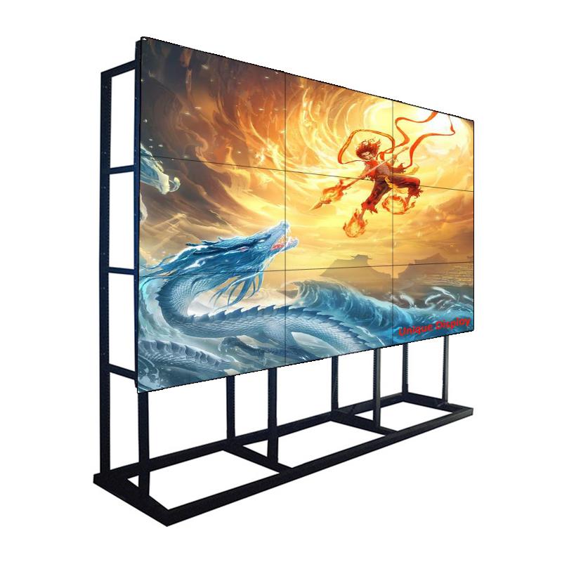 Màn hình 55 inch 1,7 mm 500 NIT Samsung LCD Video Walls Màn hình hiển thị cho Trung tâm chỉ huy, Trung tâm mua sắm và Chuỗi cửa hàng