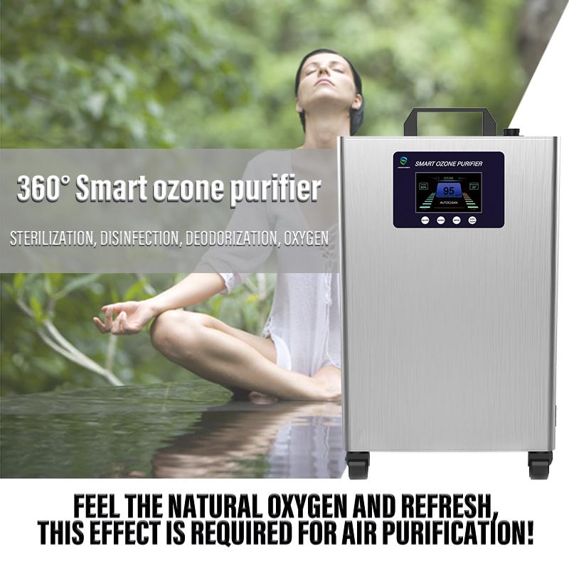 Bộ lọc khí ozone thông minh nhà