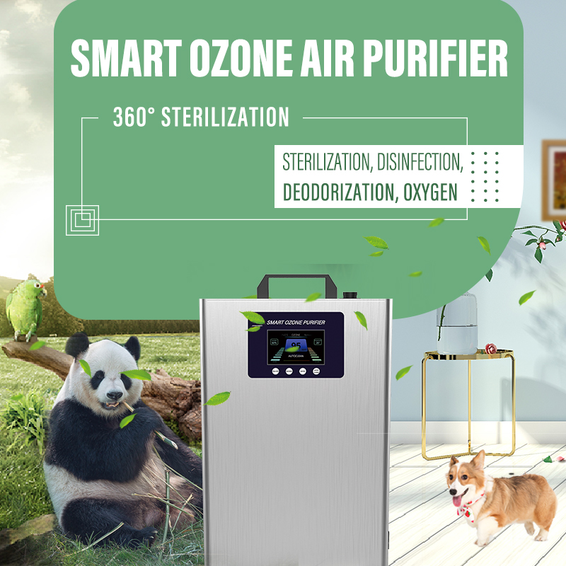 Máy lọc không khí ozone thông minh mode Chế độ khử trùng mới