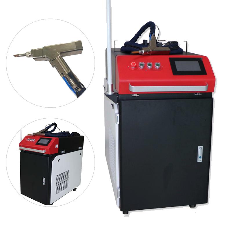Với đầu Wobble cầm tay máy hàn laser sợi tự động chất lượng cao cho đồng thau thép không gỉ nhôm đồng