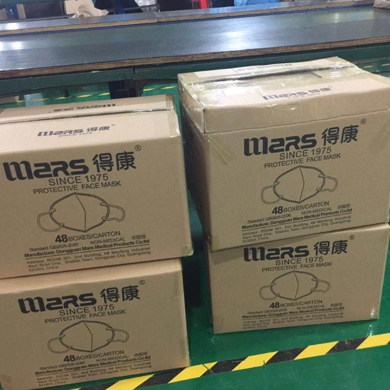 Mặt nạ Mars N95 của Trung Quốc với Niosh báo cáo chứng nhận FDA CE