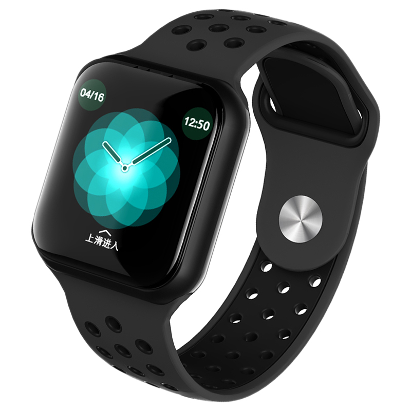 Đồng hồ tuần tra thông minh Vòng F8 (*JYDA36) Phát hiện tốc độ tim Điều tra độ giấc ngủ Kiểm tra nước IP67